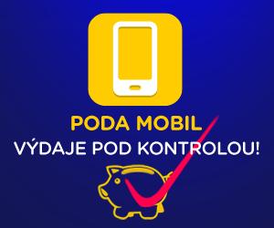 PODA Mobil - výdaje pod kontrolou