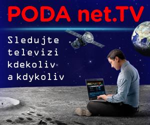 PODA .NET TV - sledujte televizi kdykoliv a kdekoliv
