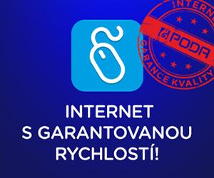Rychlý internet v Třeboni a okolí s garantovanou rychlostí