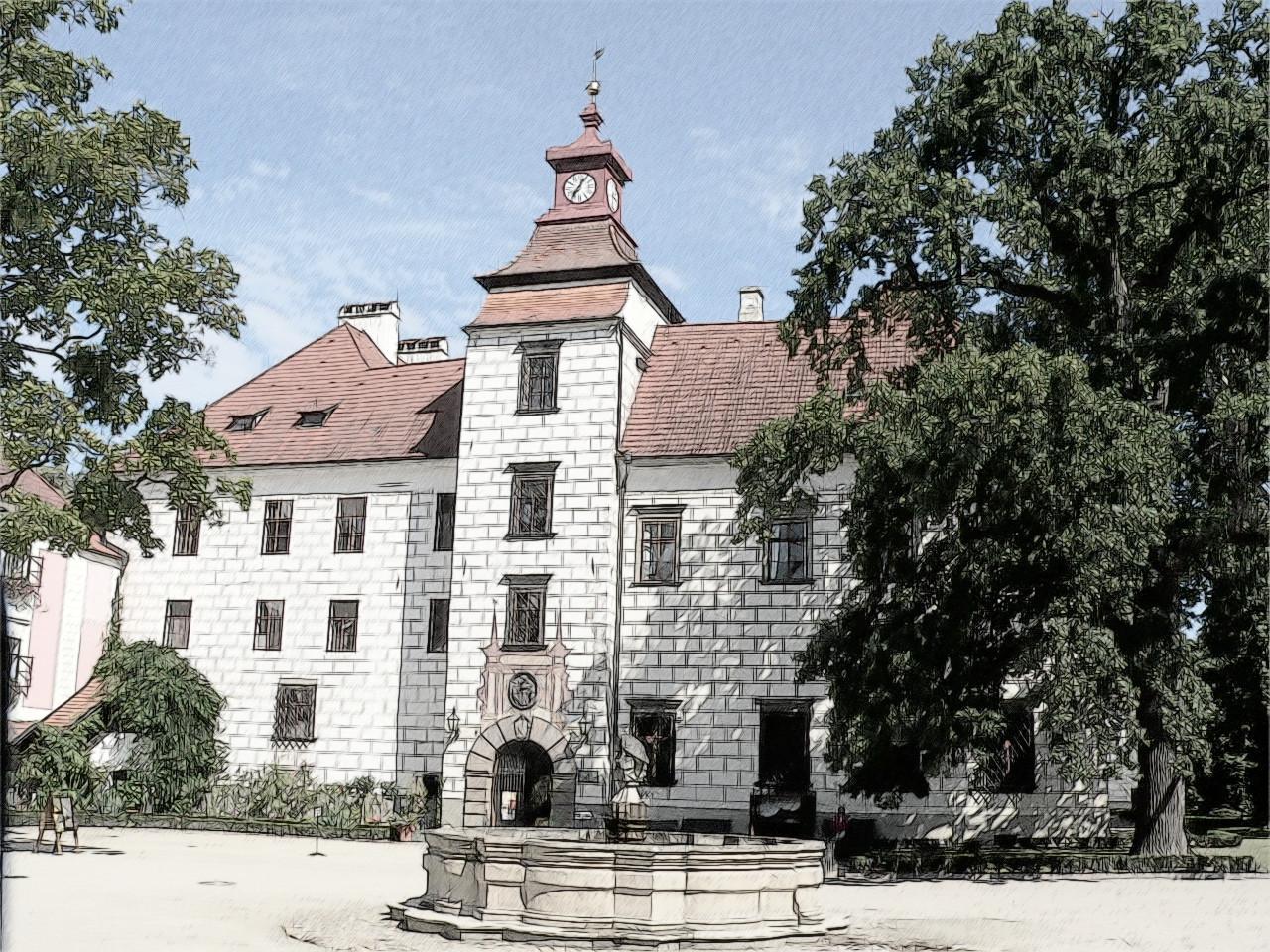 Výstava Amarylis na zámku Třeboň