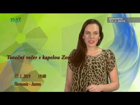 TLTV - Vysílání Třeboňské lázeňské televize 11. 1. 2019