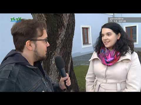TLTV - Vysílání Třeboňské lázeňské televize 7. 12. 2018